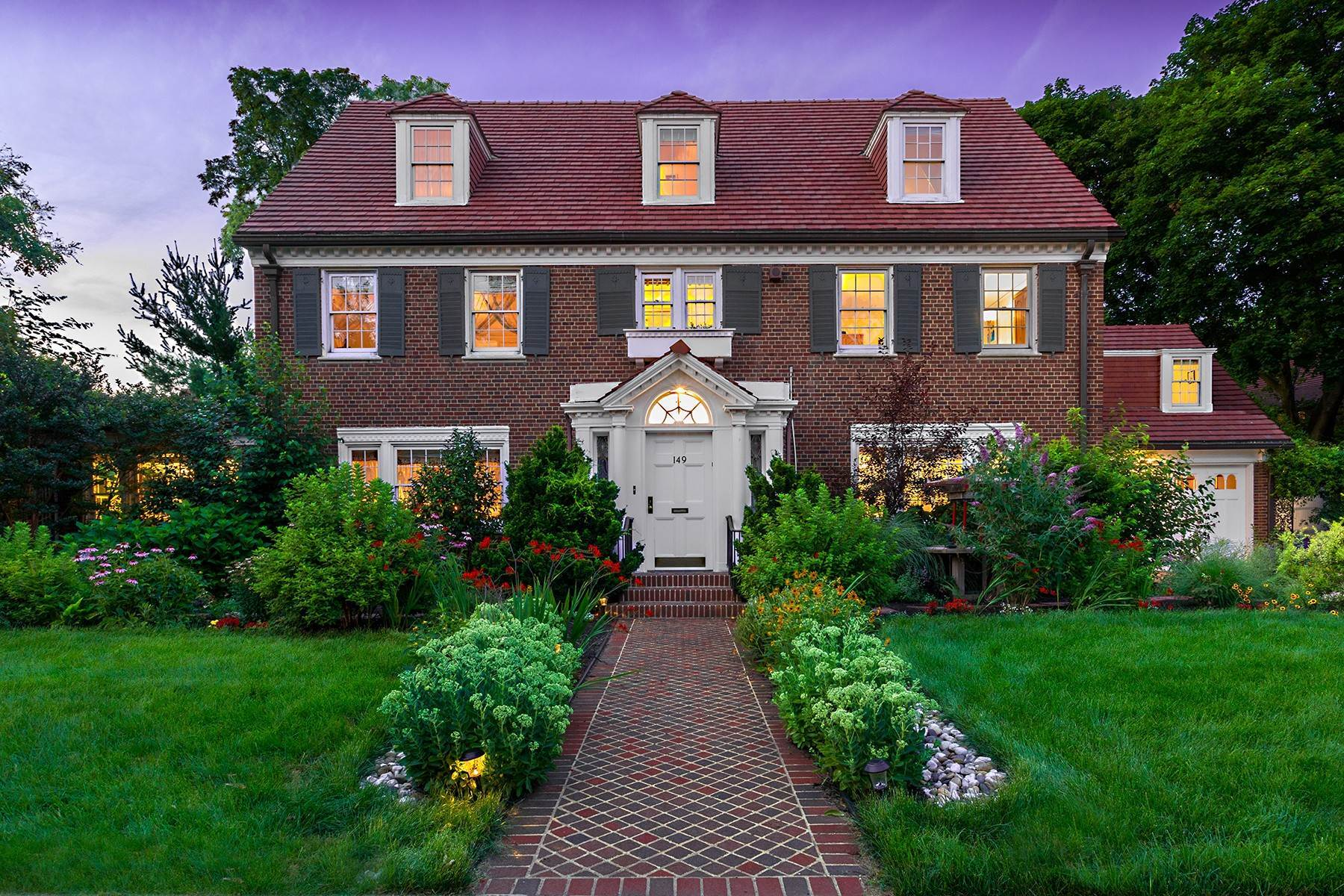 Single Family Homes for Sale at 'VIRTUAL PERFECTION' 149 Slocum Crescent, Forest Hills Gardens, Forest Hills, New York 11375 United States