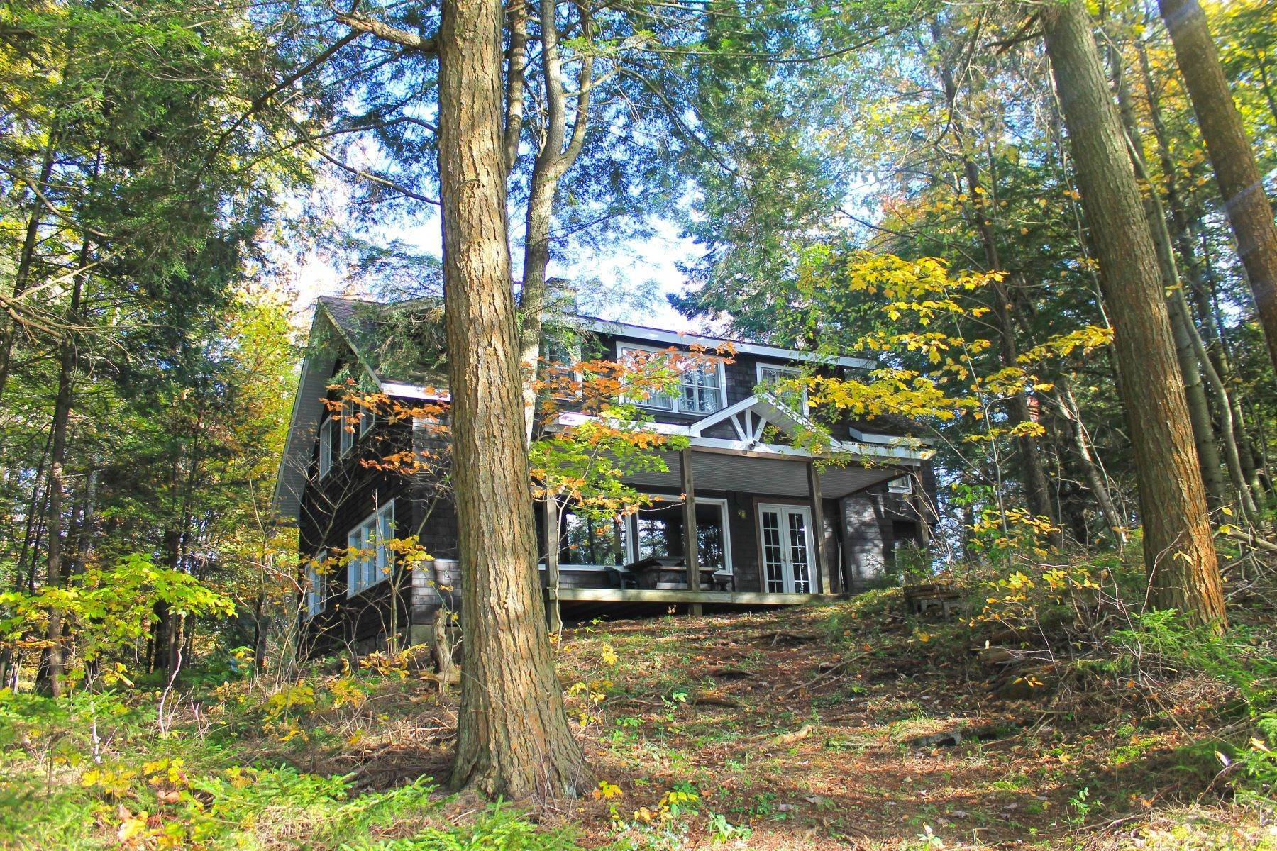 Single Family Homes for Sale at Otter Lake Retreat 1038 Norton Road Forestport, New York 13338 United States
