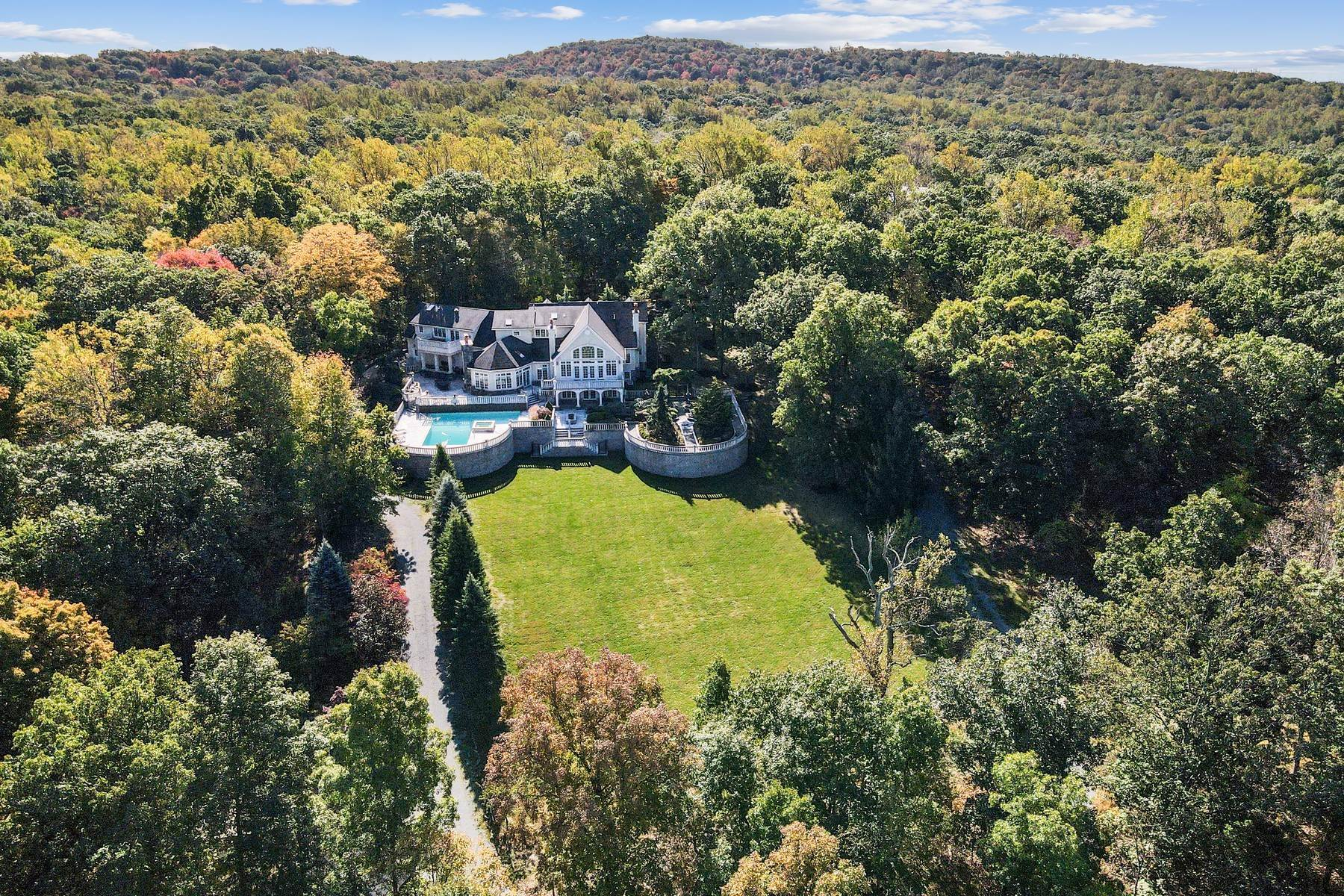 Single Family Homes for Sale at 100 Clausland Mountain Road Blauvelt, New York 10913 United States