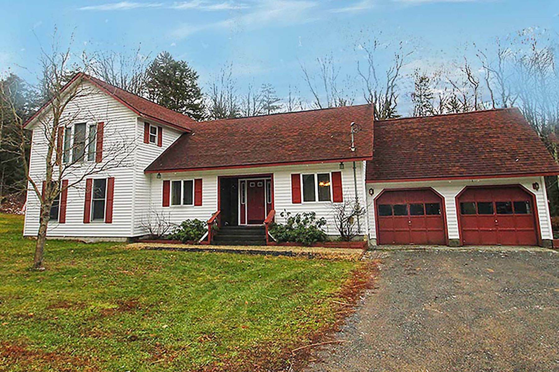 Single Family Homes for Sale at Modern Country Home 3009, Bower Road Forestport, New York 13338 United States