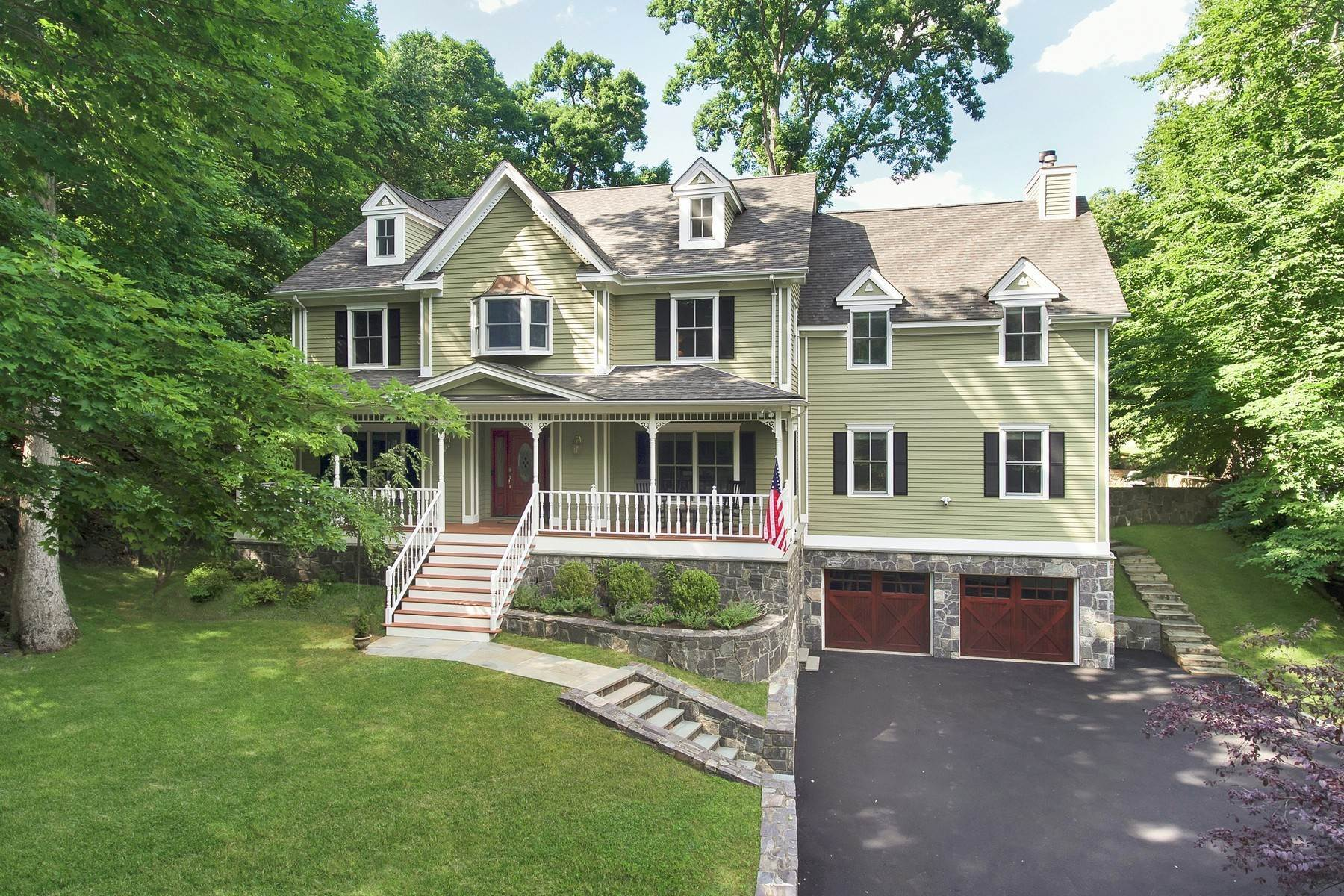 Single Family Homes for Sale at Victorian Inspired 1 Birch Court Croton On Hudson, New York 10520 United States