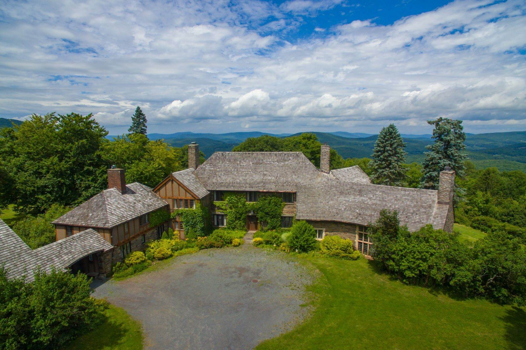 Single Family Homes for Sale at Sul Monte Mansion on Belleayre Mountain 352 Galli Curci Road, County Route 49A Highmount, New York 12441 United States