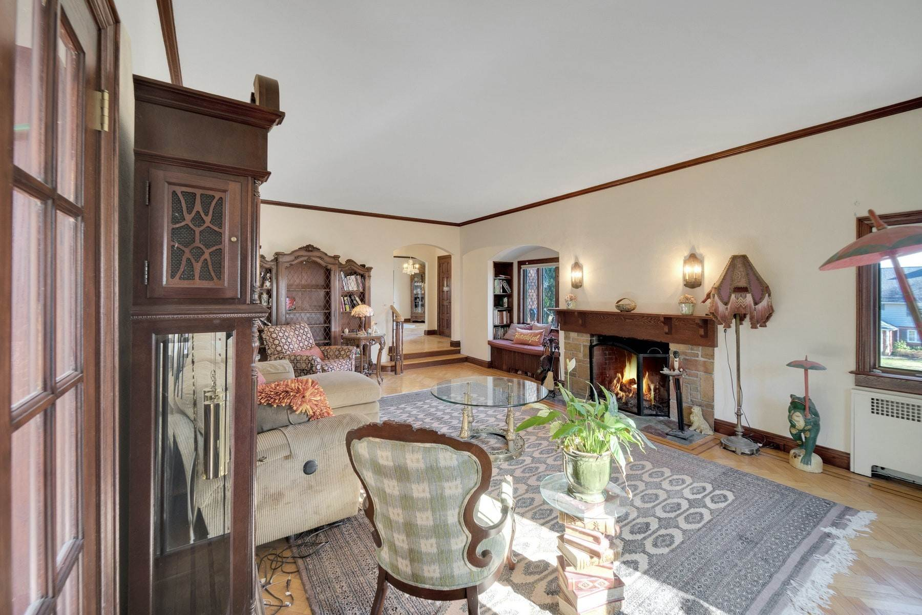 4. Single Family Homes for Sale at Village Brick Tudor 17 Wisner Terrace Goshen, New York 10924 United States