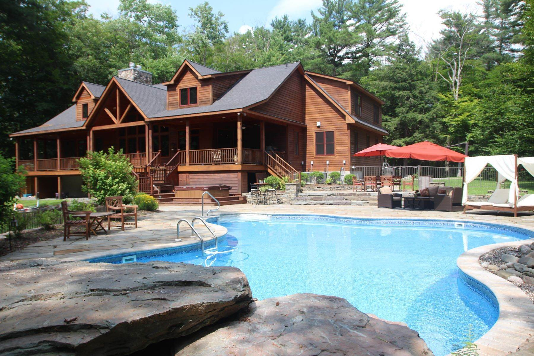 Property for Sale at Aspen Lodge at The Chapin Estate 252 Woodstone Trail Bethel, New York 12720 United States