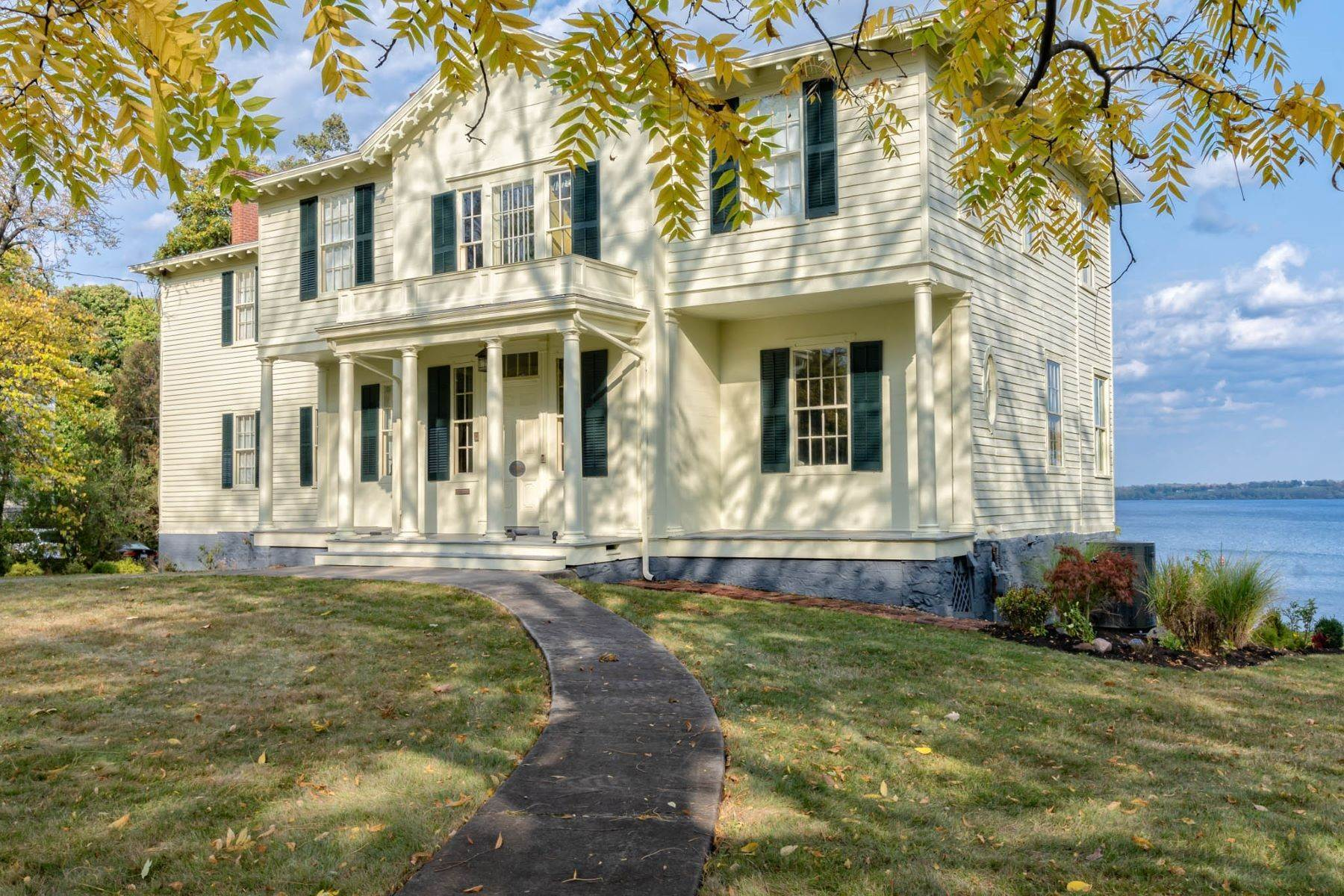 Single Family Homes for Sale at Eclectic Colonial on Seneca Lake 789 South Main Street Geneva, New York 14456 United States