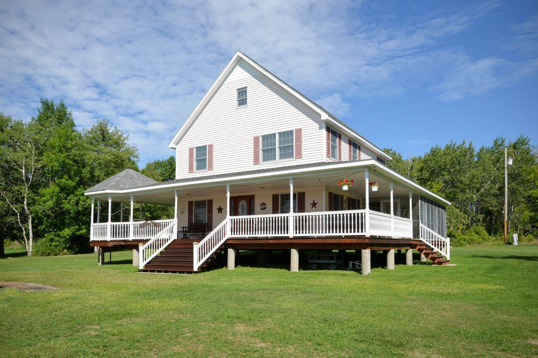 Single Family Homes for Sale at Cottage on Historic Round Island 15616 Round Island Clayton, New York 13624 United States