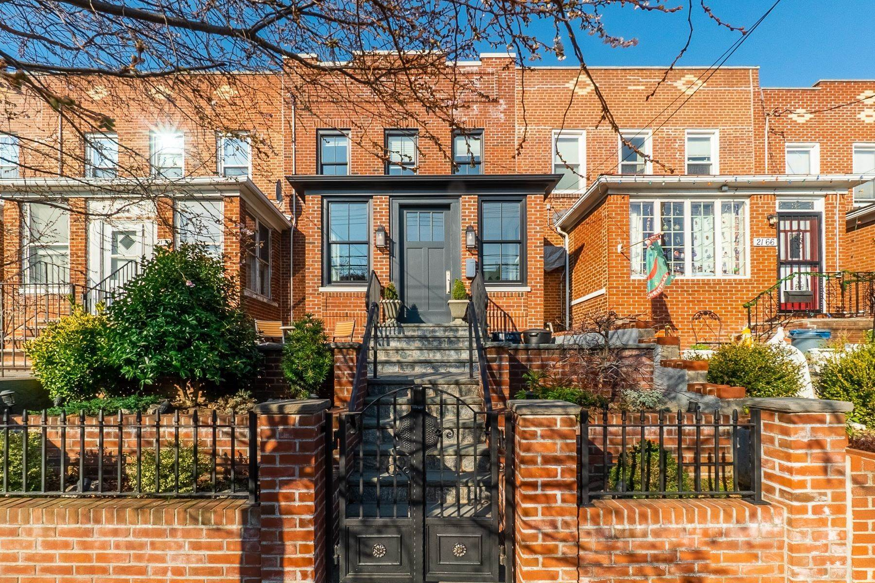 Single Family Homes for Sale at 21-68 38th Street, Astoria, NY 11105 21-68 38th Street Astoria, New York 11105 United States