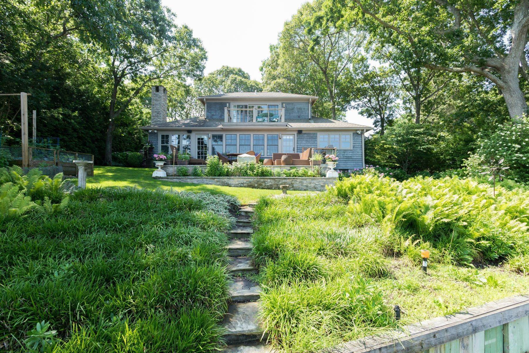 Single Family Homes for Sale at 1235 Luptons Point Road, Mattituck, NY 11952 1235 Luptons Point Road Mattituck, New York 11952 United States