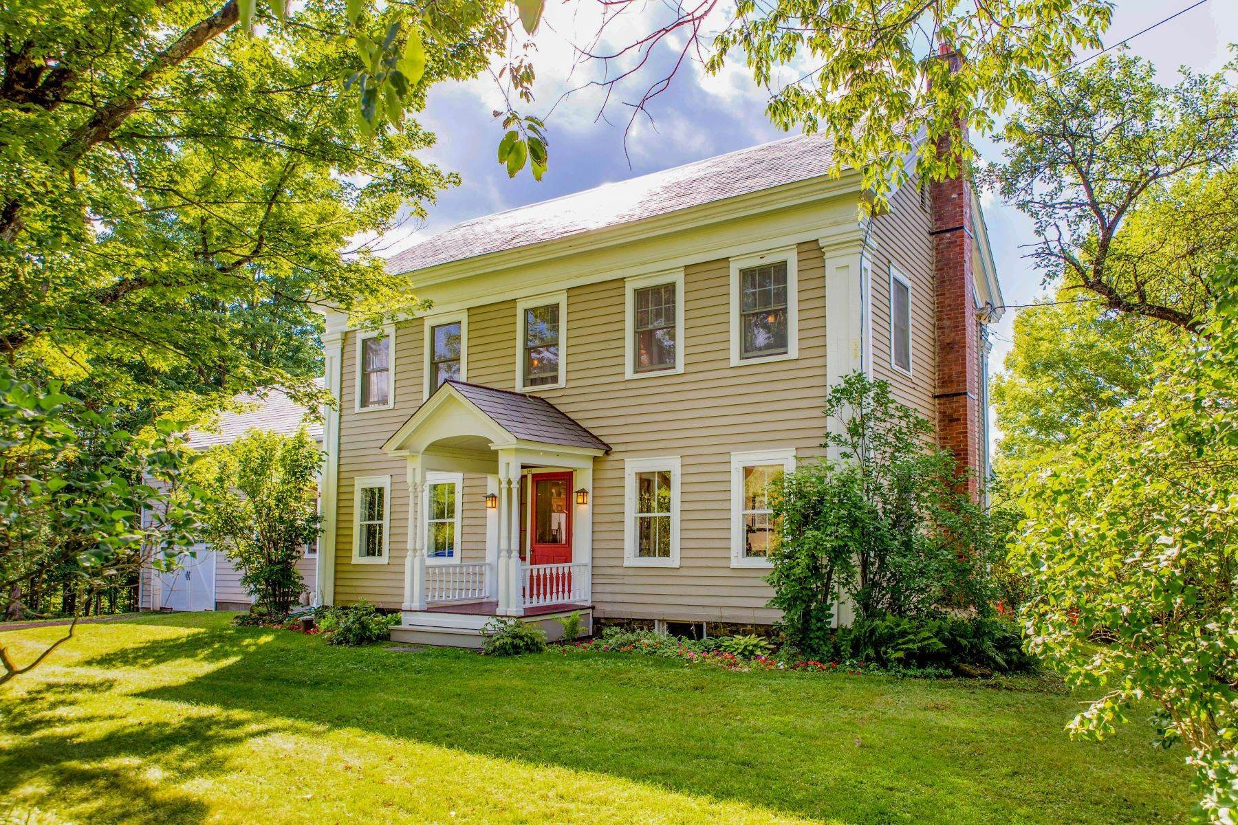 Single Family Homes for Sale at Beautiful Maintained McConell Homestead Farmhouse 779 County Route 31 Granville, New York 12832 United States