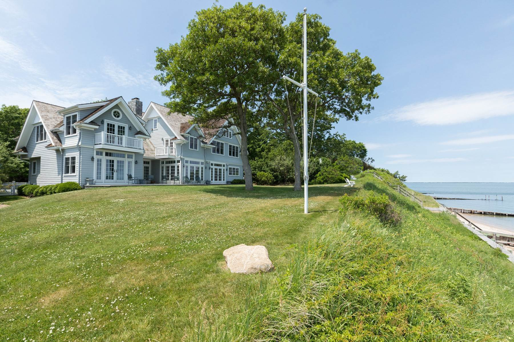 Single Family Homes for Sale at 189a Ram Island Drive, Shelter Island, Ny, 11964 189A Ram Island Drive Shelter Island, New York 11964 United States