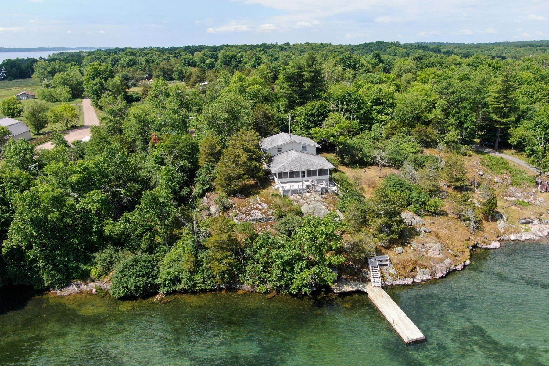 Single Family Homes for Sale at Panoramic Island Views 41100 Cross Island Road Clayton, New York 13624 United States