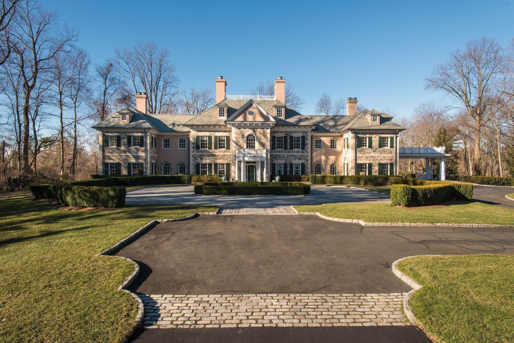 Single Family Homes for Sale at Architectural Masterpiece 41 Alpine Road Greenwich, Connecticut 06830 United States