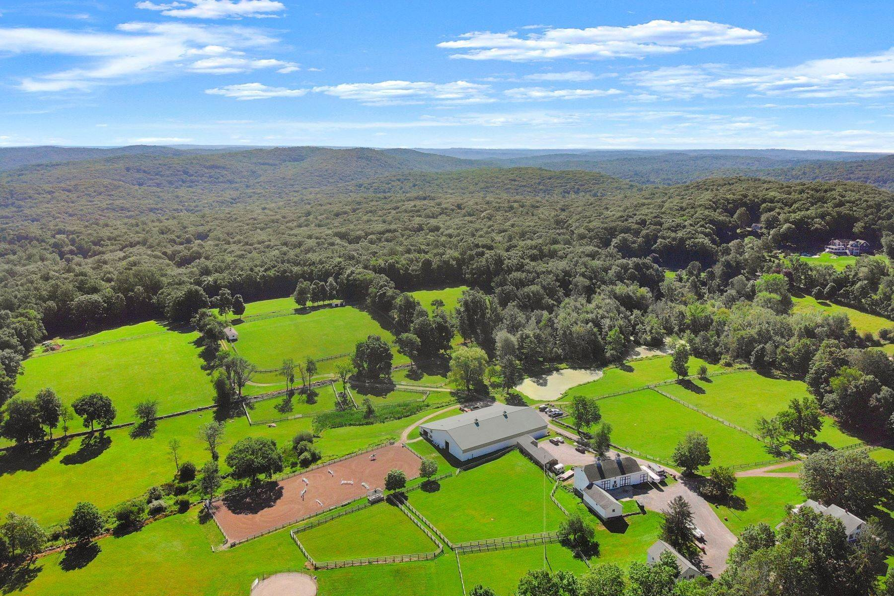 Vineyard Real Estate for Sale at Turnabout Farm - Equestrian 484 Ridgebury Road & 33 Ned'S Mountain Road Ridgefield, Connecticut 06877 United States