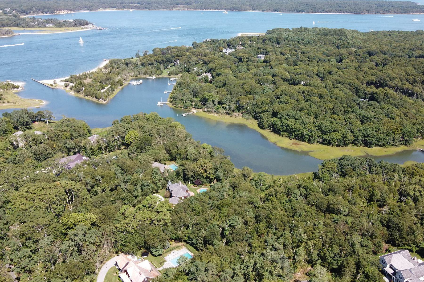 Land for Sale at North Haven Waterfront Vacant Land 5 Widow Coopers Path Sag Harbor, New York 11963 United States