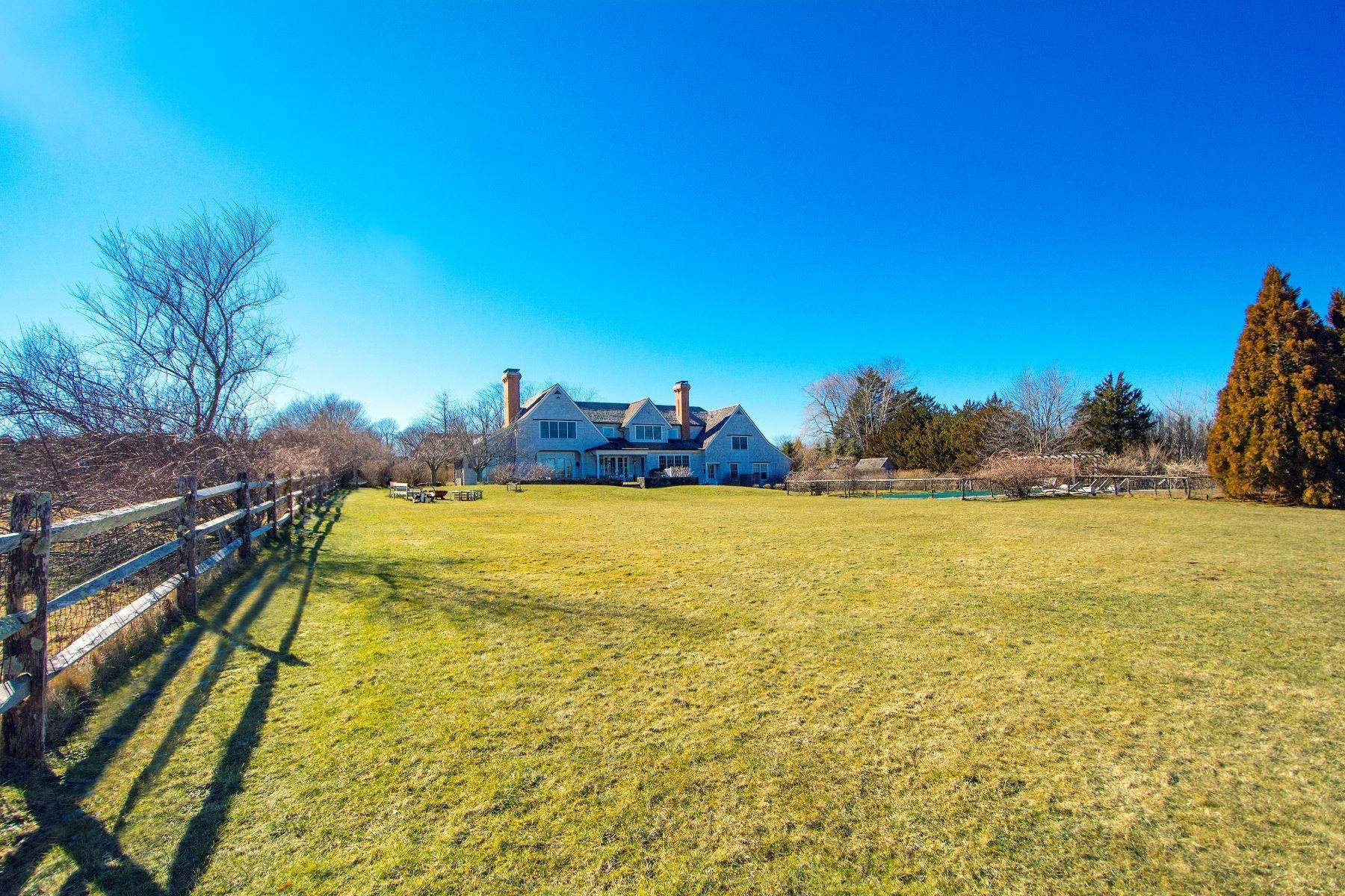 Single Family Homes for Sale at Wainscott South Close to Ocean 45 Town Line Road Wainscott, New York 11975 United States
