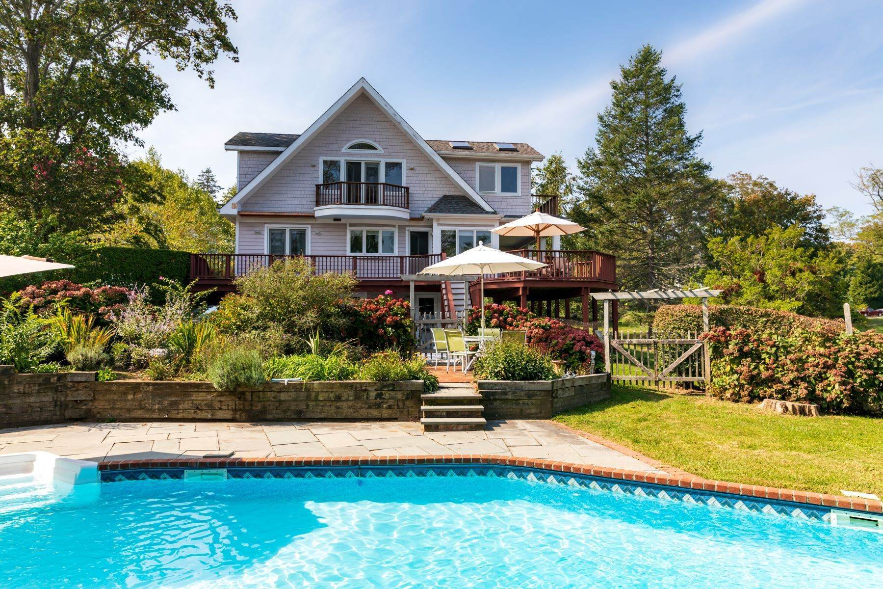 Single Family Homes for Sale at Shelter Island Heights Water Views 10 Grand Avenue Shelter Island, New York 11965 United States