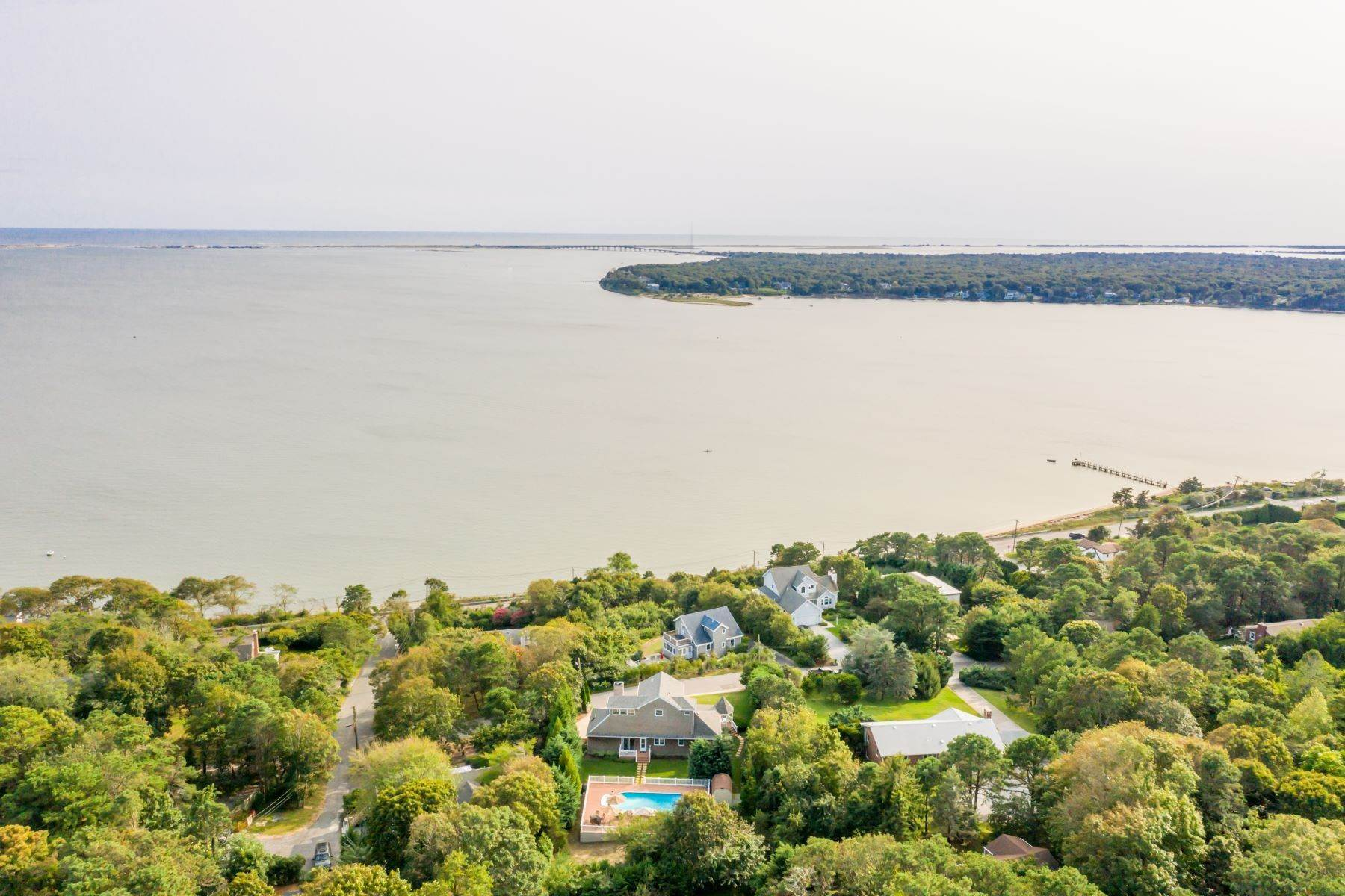 Single Family Homes for Sale at SHINNECOCK BAY VIEWS 5 High Road Hampton Bays, New York 11946 United States