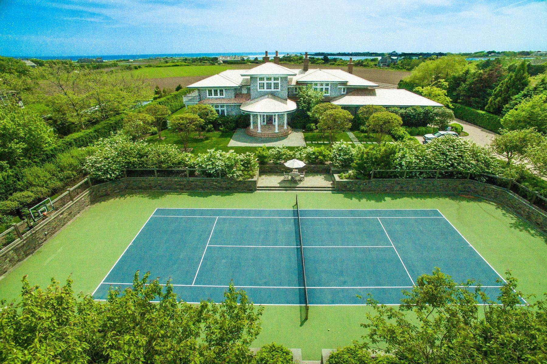 Single Family Homes for Sale at Sagg Ocean Views on 23 Acre Reserve 19 Sagg Pond Court Sagaponack, New York 11962 United States