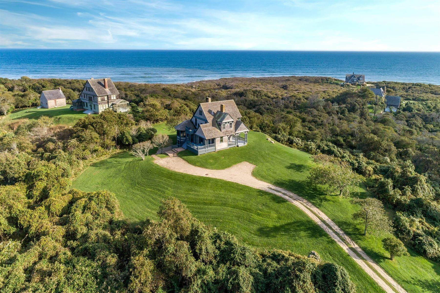 Single Family Homes for Sale at Stanford White Ocean View Cottage 153 Deforest Road Montauk, New York 11954 United States