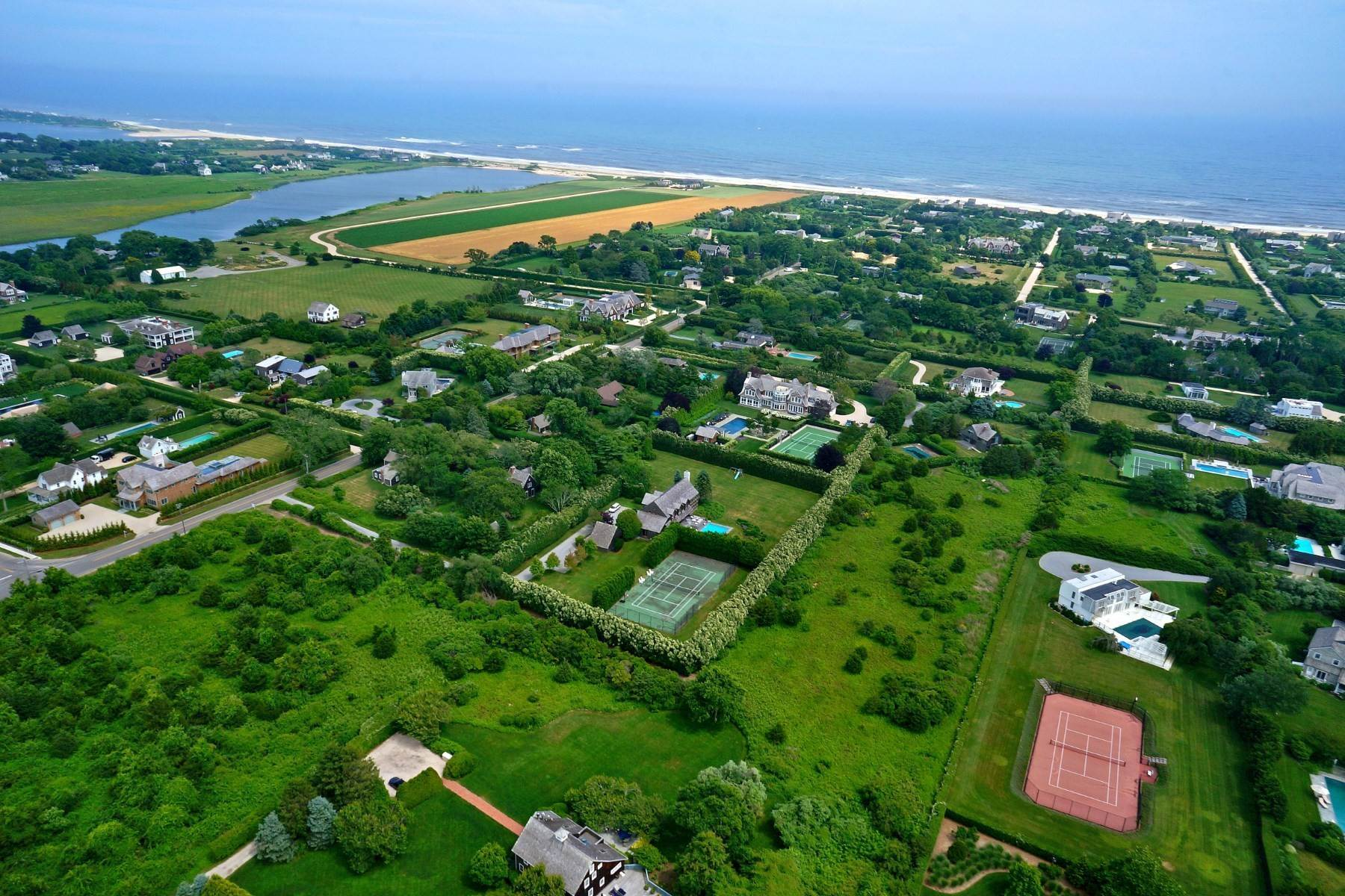 Land for Sale at Sagaponack South Privacy 342 Town Line Road Sagaponack, New York 11962 United States