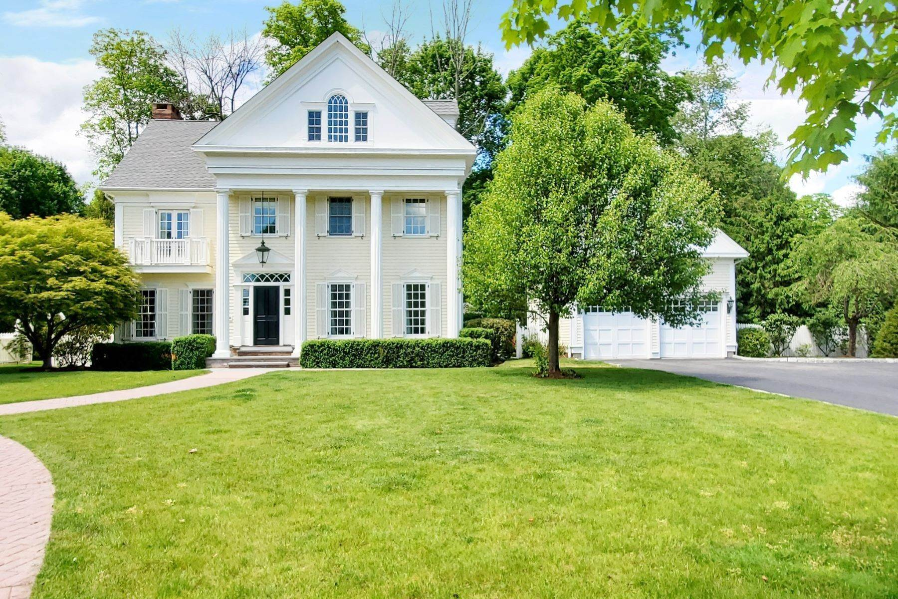 Single Family Homes for Sale at Exceptional Custom Home 547 Main Street Ridgefield, Connecticut 06877 United States