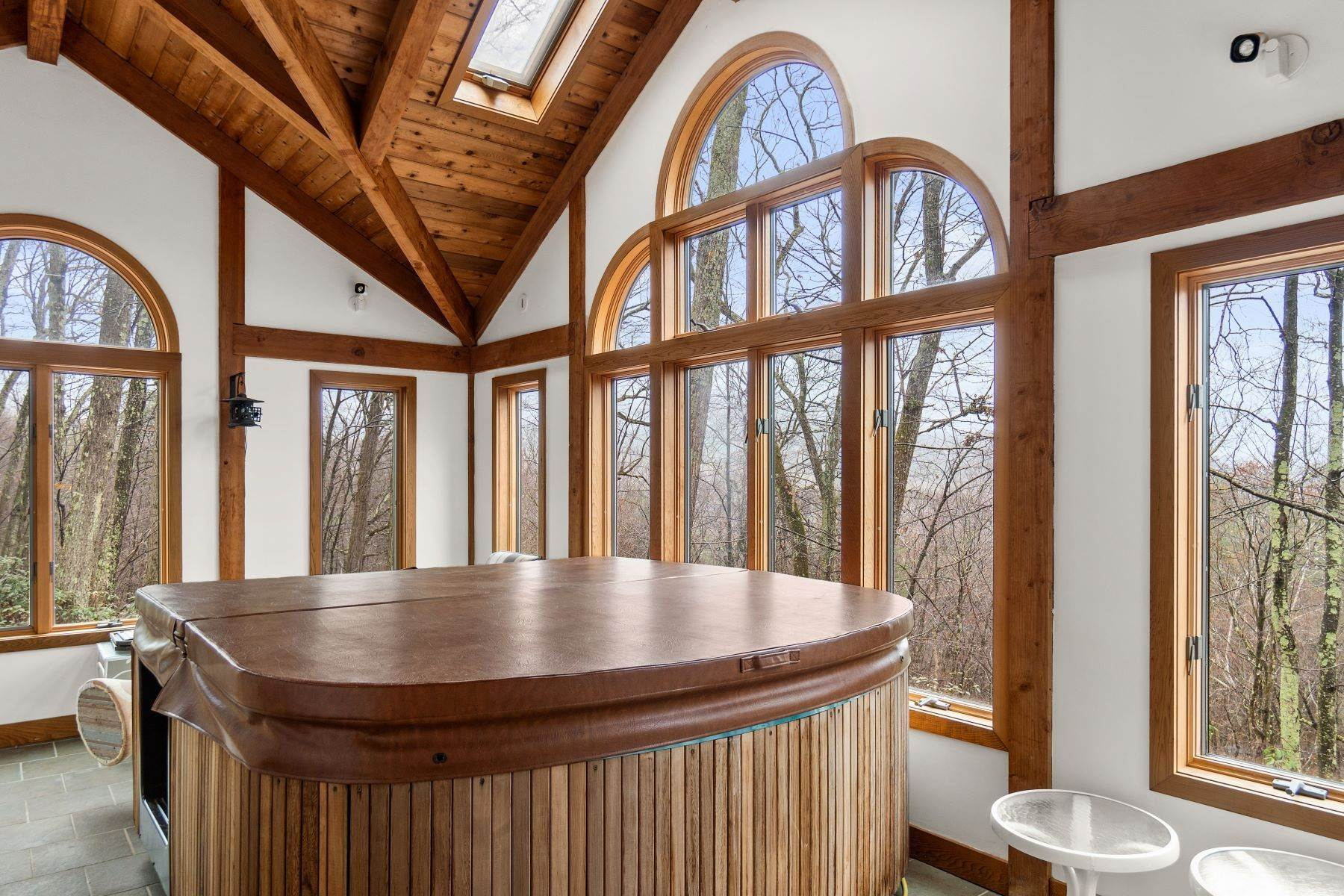 23. Single Family Homes for Sale at Secluded Mountain Top Post & Beam 35 Stone Ledge Rd Hillsdale, New York 12529 United States