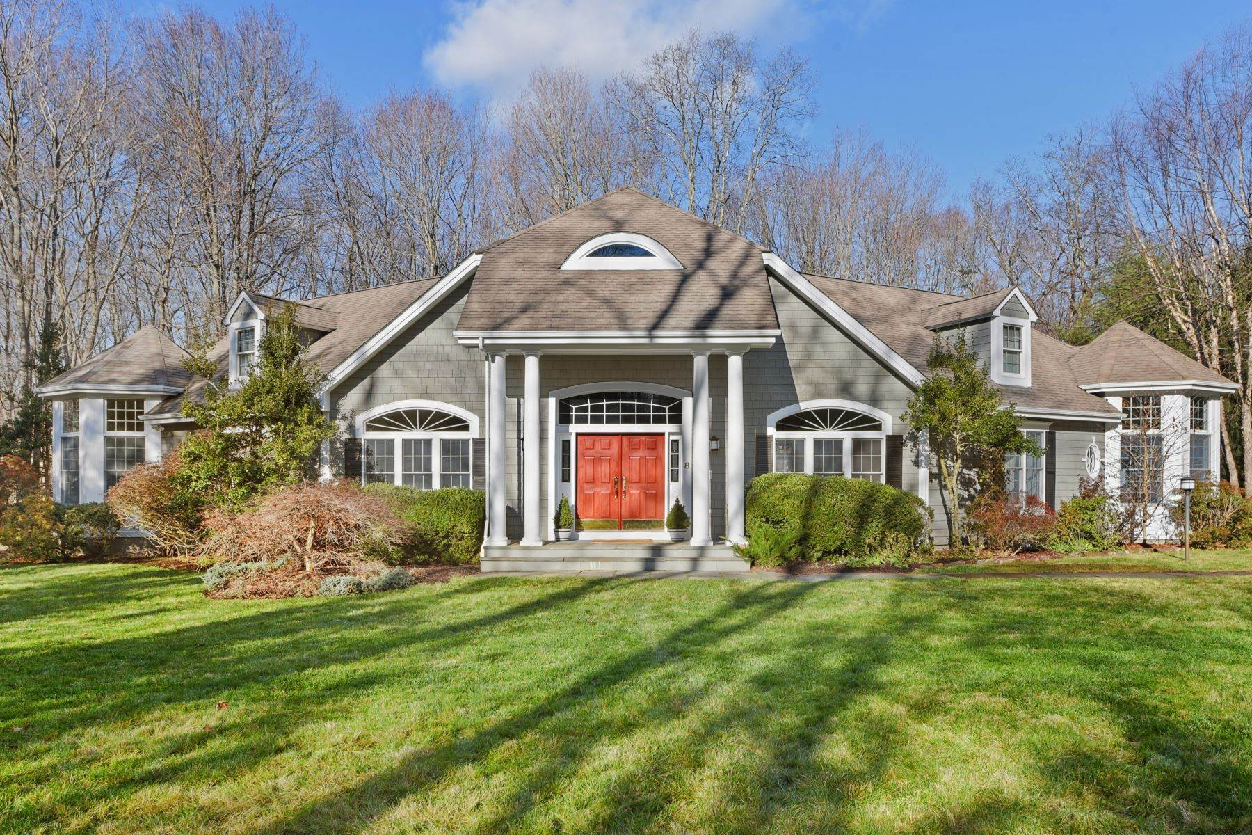 Single Family Homes for Sale at Exquisite Wooded Property By Golf Course! 8 Stockbridge Road Mount Kisco, New York 10549 United States