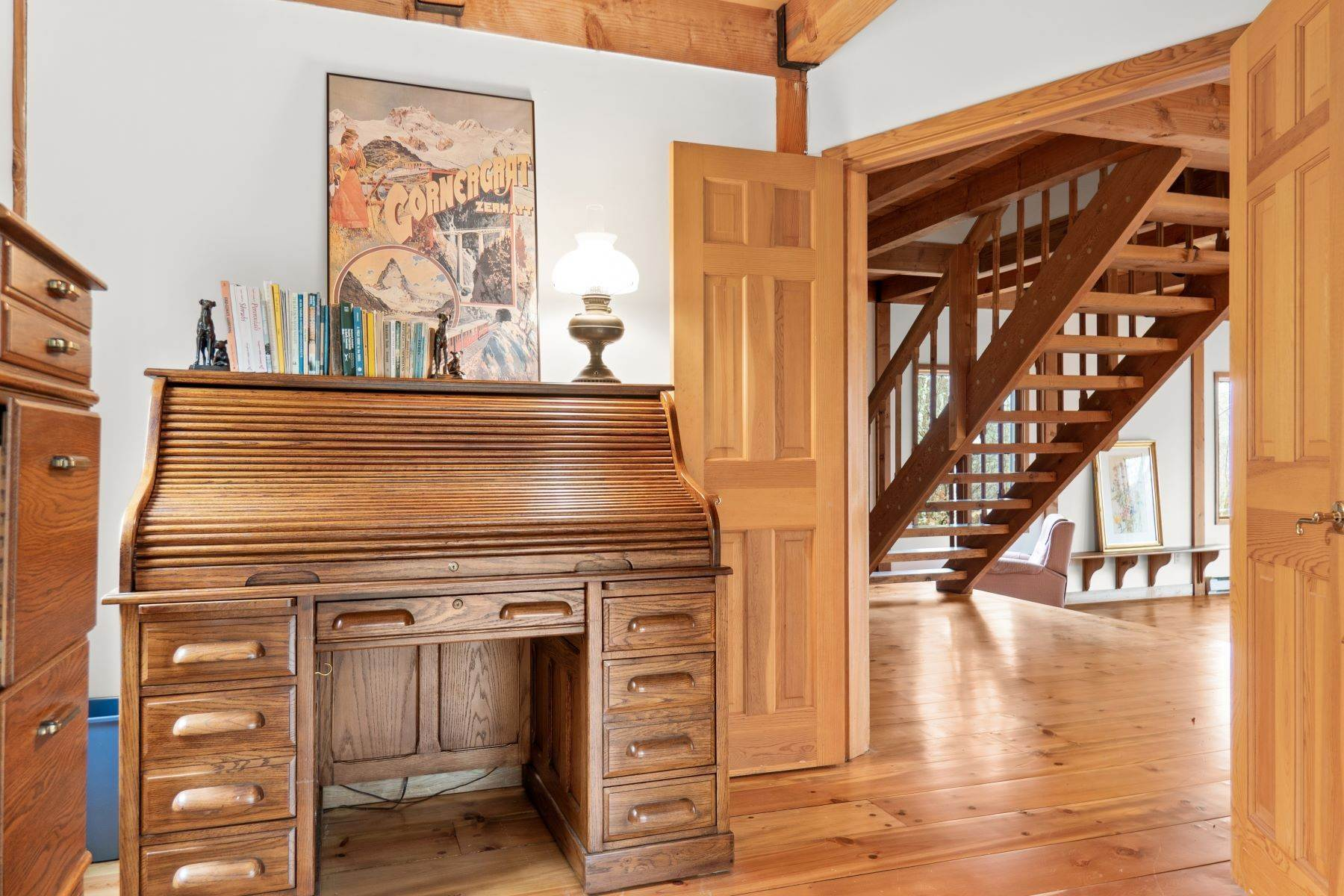 9. Single Family Homes for Sale at Secluded Mountain Top Post & Beam 35 Stone Ledge Rd Hillsdale, New York 12529 United States